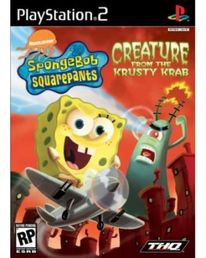 SpongeBob SquarePants Creature from the Krutsy Krab PS2