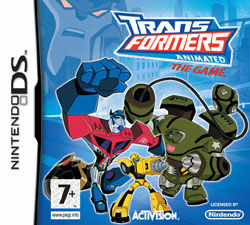 Transformers Animated Nintendo DS