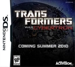 Transformers: War for Cybertron - Autobots Nintendo DS