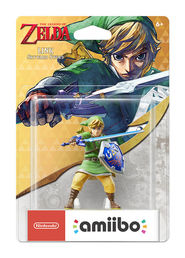 amiibo The Legend of Zelda Link Skyward Sword Link hahmo