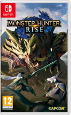 Monster Hunter Rise Switch kansikuva