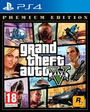 Grand Theft Auto V Premium Online Edition PS4 kansikuva