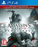 Assassins Creed III Remastered PS4 kansikuva