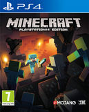 Minecraft PS4 kansikuva