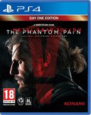 Metal Gear Solid 5: The Phantom Pain PS4 kansikuva