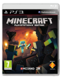 Minecraft PS3 kansikuva