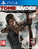 Tomb Raider Definitive Edition PS4 kansikuva