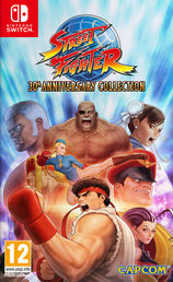Street Fighter 30th Anniversary Collection Switch kansikuva