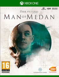 The Dark Pictures: Man of Medan Xbox One kansi