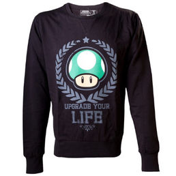 Nintendo Upgrade Your Life Sweater M