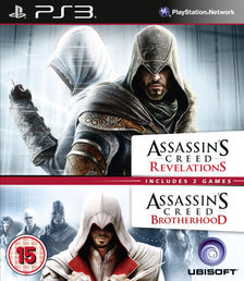 Assassins Creed Double Pack (Brotherhood & Revelations) PS3
