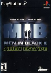 Men In Black II: Alien Escape PS2 (käytetty)