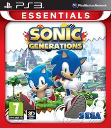 Sonic Generations Essentials PS3 kansikuva